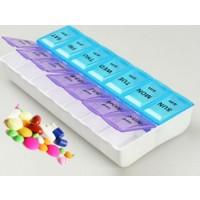 TveT Haftalık İlaç Saklama Kutusu - Uzun Kutu