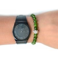 TveT Yeşil Saat Yanı Bileklik