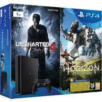 Ps4 1 TB Konsol + Horizon Zero Dawn + Uncharted 4 + PS Plus 3 Ay Bundle (Sony Eurasia)