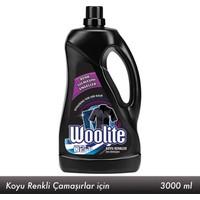Woolite Koyu Renkler Çamaşırlar Sıvı Deterjan 3 lt