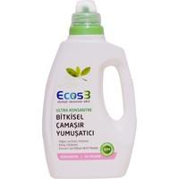 Ecos3 Ultra Konsantre Bitkisel Çamaşır Yumuşatıcı 750 ml.