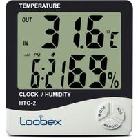 Loobex Htc-2 Sıcaklık ve Nem Ölçer