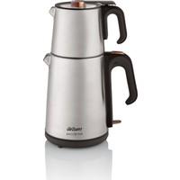 Arzum AR3023 Çaycı Heptaze Çay Makinesi - Inox / Inox
