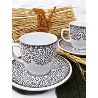 Keramika 2 Kişilk 4 Parça Halic Magic Kahve Takımı