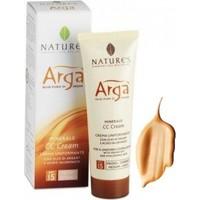Natures Arga Minerale Cc Cream Spf 15 Medium Light 50 Ml