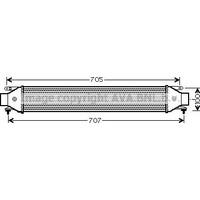 Ithal R833975 Turbo Radyatöru (Intercooler) Doblo 1.6 Mtj 09=>