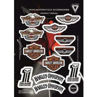Vexo X28 Harley Stıcker Set
