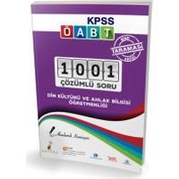 Pelikan Yayınları Kpss Öabt Din Kültürü Ve Ahlak Bilgisi Öğretmenliği Alan Taraması Serisi 1001 Çözümlü Soru