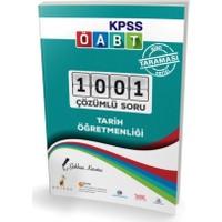 Pelikan Yayınları Kpss Öabt Tarih Öğretmenliği Alan Taraması Serisi 1001 Çözümlü Soru