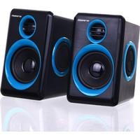 Powerstar USB Laptop 1+1 Bass Ses Sistemi