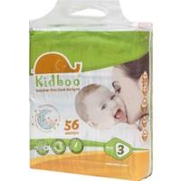 Kidboo Bebek Bezi 3 Beden - 4-9 Kg - 56 Adet