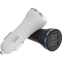 Tsmart İphone Şarj Kablolu 3.1A Araç Şarj Cihazı