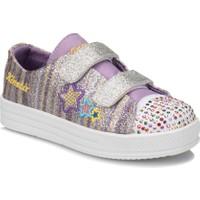 Kinetix Rekna Mor Sarı Kız Çocuk Sneaker Ayakkabı
