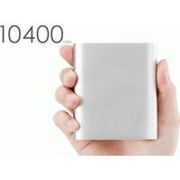 Toptancı Kapında Powerbank 10400 mAh Alüminyum Kasalı Harici Batarya