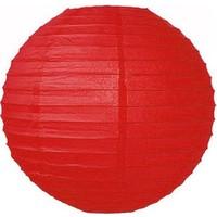 Toptancı Kapında Dekoratif Çin Feneri – Kağıt Lamba - Kırmızı