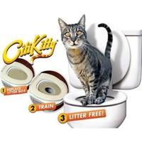 Toptancı Kapında Citikitty Kedi Tuvalet Eğitim Seti