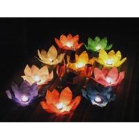 Toptancı Kapında Nilüfer (Çiçek) Su Feneri (50 Adet)
