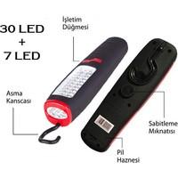 Toptancı Kapında 30 / 7 LED Askılı Mıknatıslı Led Lamba