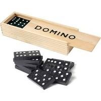 Toptancı Kapında Ahşap Domino Seti