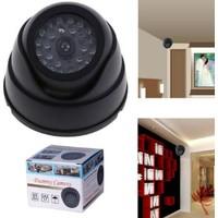 Toptancı Kapında 360 Derece Oynar Başlıklı Ledli Sahte Dome Kamera