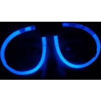 Toptancı Kapında Mavi Glow Stick Işıklı Gözlük