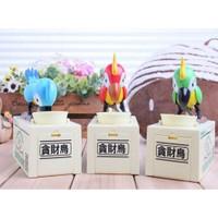 Toptancı Kapında Parrot Piggy Bank Para Yiyen Papağan Kumbara