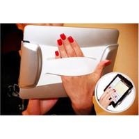 Toptancı Kapında Flexible Hand Grip Esnek Tablet Tutucu
