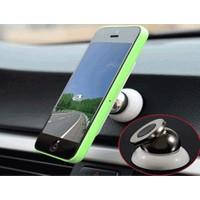 Toptancı Kapında Araç İçi 360° Dönebilen Mıknatıslı Yapışkanlı Telefon