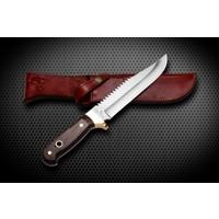 Bora M 403 Büyük Bowie Testereli Wenge Saplı Bıçak