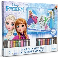 Disney Frozen Altılı 3D Kum Boyama Seti