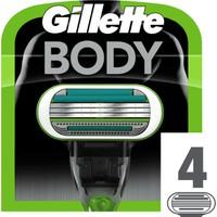 Gillette Body Vücut İçin 4'lü Tıraş Bıçağı