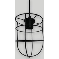 Klite Wire Cage15 Avize - Siyah