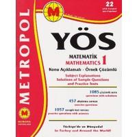 Metropol YÖS Matematik 1 Konu Anlatımlı Örnek Çözümlü