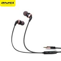 Awei Mikrofonlu Kulakiçi Kulaklık ES-30TY- Rose Gold