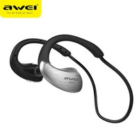Awei Sport Bluetooth Kulaklık (Suya Dayanıklı) A885BL - Iron Gray