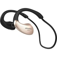Awei Sport Bluetooth Kulaklık (Suya Dayanıklı) A885BL - Gold