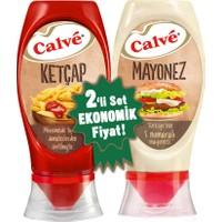 Calve Ketçap & Mayonez Büyük Set 975 g