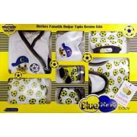 Blue Pink 7 Parça Taraftar Zıbın Hastane Çıkışı Sarı Lacivert