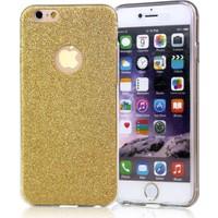 MsE Apple iPhone 6/6S Plus Simli Kaplama kılıf + Cam