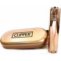Clipper Metal Çakmak Rose Parlak