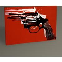 Tablo 360 Andy Warhol Guns Tablo 30 x 20 cm