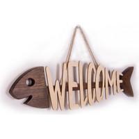 Purupa Welcome Balık Dekoratif Obje
