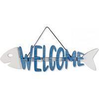 Purupa Welcome Balık Ege Mavisi Dekoratif Obje