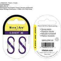 Nite-İze S-Bıner Plastık Sıze 0 Purple