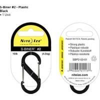 Nite-İze S-Bıner Plastık Sıze 2 Black