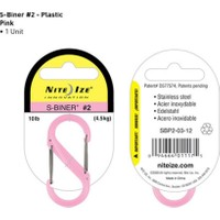 Nite-İze S-Bıner Plastık Sıze 2 Pınk