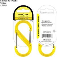 Nite-İze S-Bıner Plastık Sıze 4 Yellow