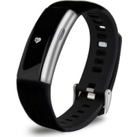 Everest FIT MATE W27 Bluetooth Smart Bileklik Gümüş Akıllı Saat