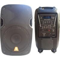 """D-Sound Xp-10Pa 10""""Akülü"""
