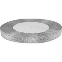 Kullanatmarket Gümüş Saten Simli Kurdele 1Cm 25 Mt